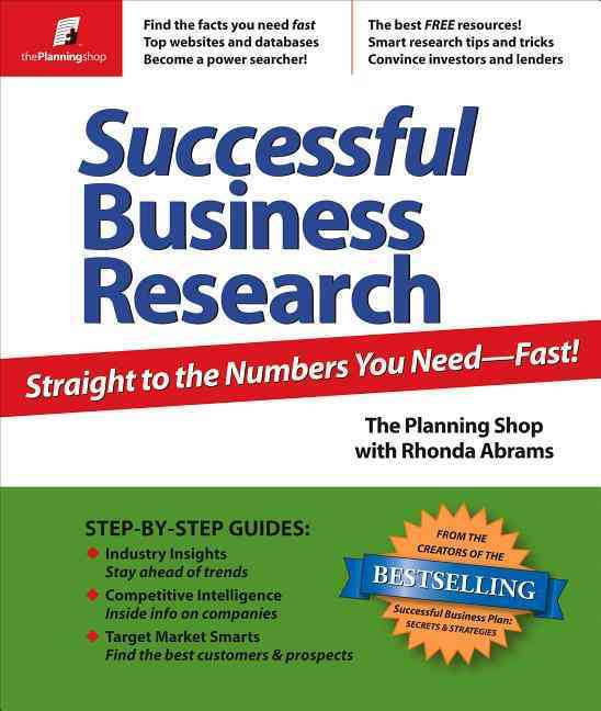 Successful Business Research By Abrams, Rhonda